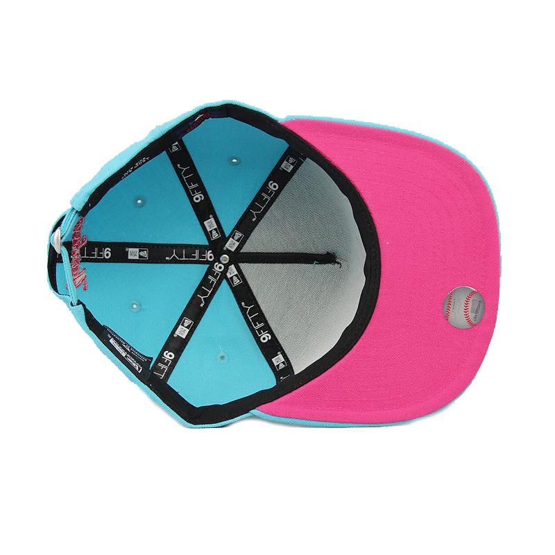 0e57a22368747 boné aba reta new era york yankees azul rosa with strapback. Carregando  zoom.