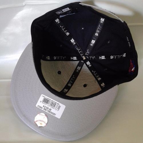 boné aba reta new york ny yankees logo luster - snapback