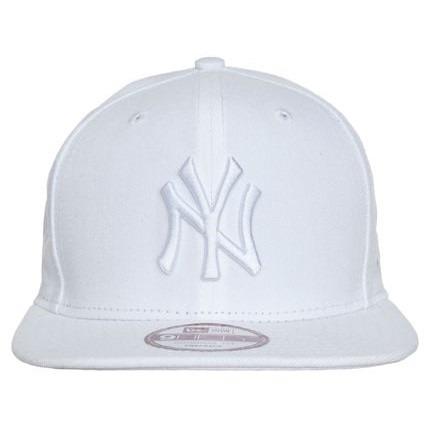 3b41c576962b4 Boné Aba Reta New York Yankees Branco Aberto Snapback - R  169