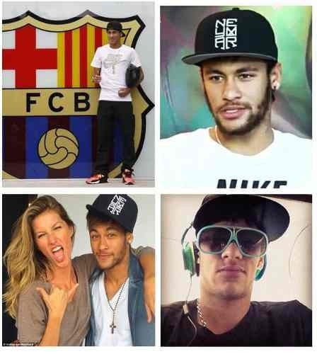 6c7dc3418d Boné Aba Reta Neymar Nike Snapback Exclusivo - Importado - R$ 102,80 ...