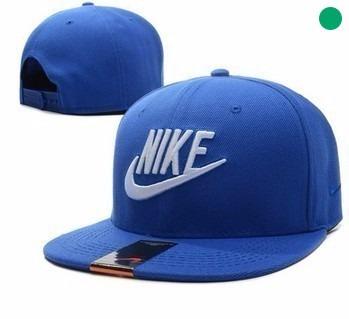 Boné Aba Reta Nike Masculino Importado Azul E Branco - R  59 3f1ad4d6d03