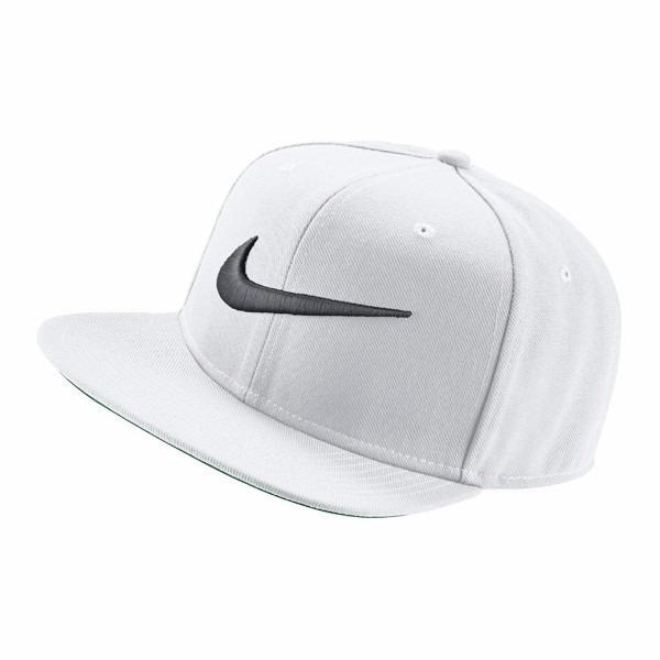 Bone Aba Reta Nike Pro Swoosh Original Branco - R  99 7ab5e12dac6
