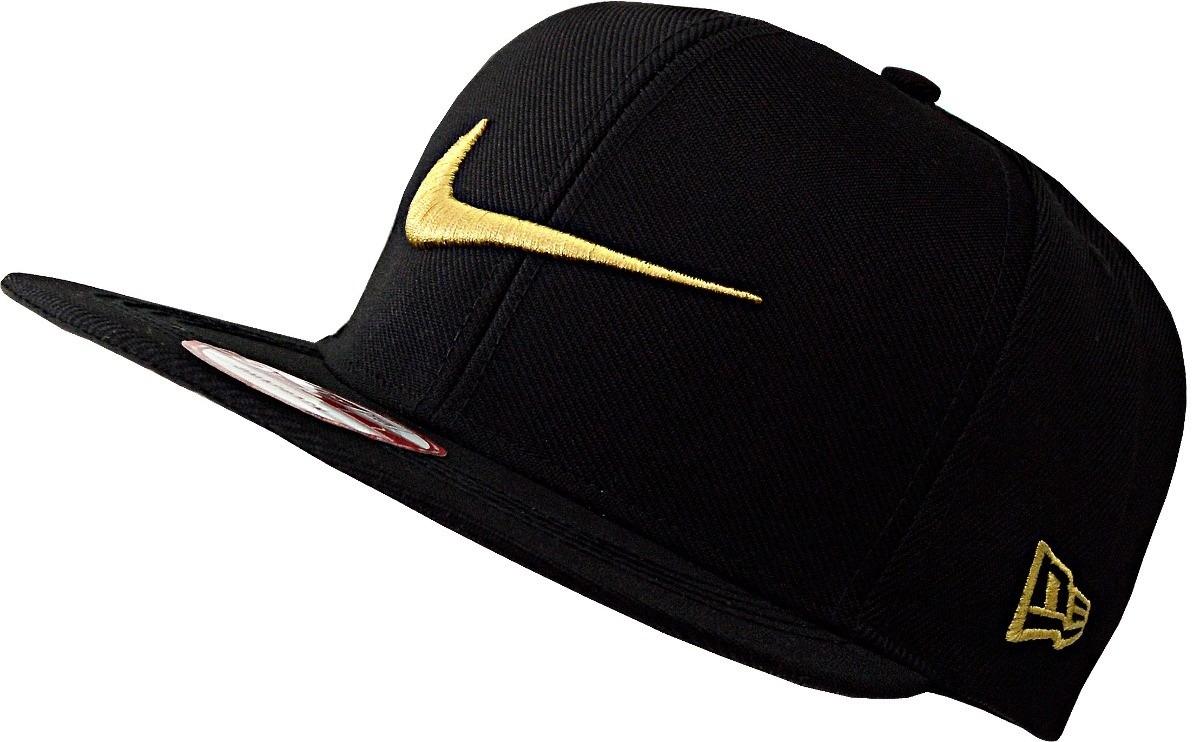 Boné Aba Reta Nike Sb Icon Qt Nike Pro Swoosh Preto E Dourad - R  59 ... 52d89345cfd1d