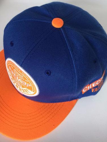 d945e2af1c979 boné aba reta premier azul e laranja. Carregando zoom.