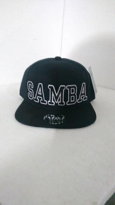 boné aba reta samba snapback preto. Carregando zoom. 4dbc1951fb2