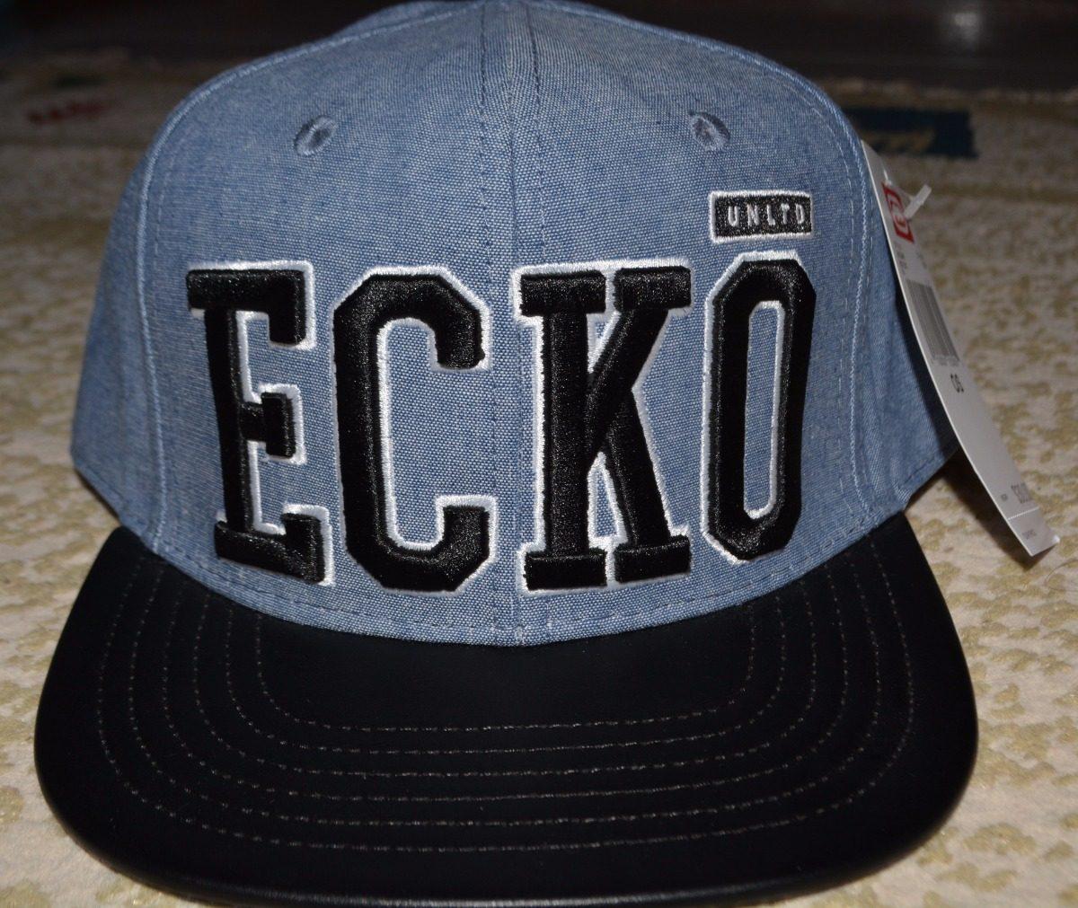eaf84d81d0b89 boné aba reta   snapback couro ecko unlimited (original eua). Carregando  zoom.