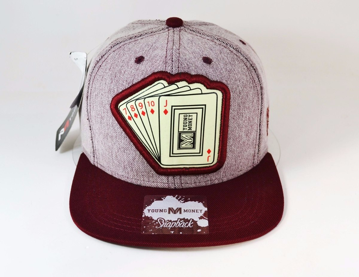 380b4a901202b Boné Aba Reta Snapback - Frete Grátis - Poker -fluorescente - R  49 ...