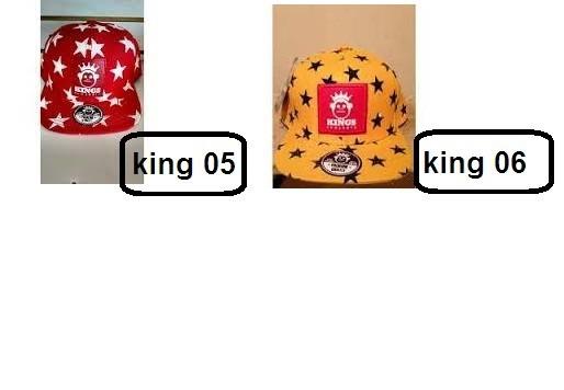 Boné Aba Reta Snapback Kings Snekers Stars Cores Variadas - R  34 59b555eb6da