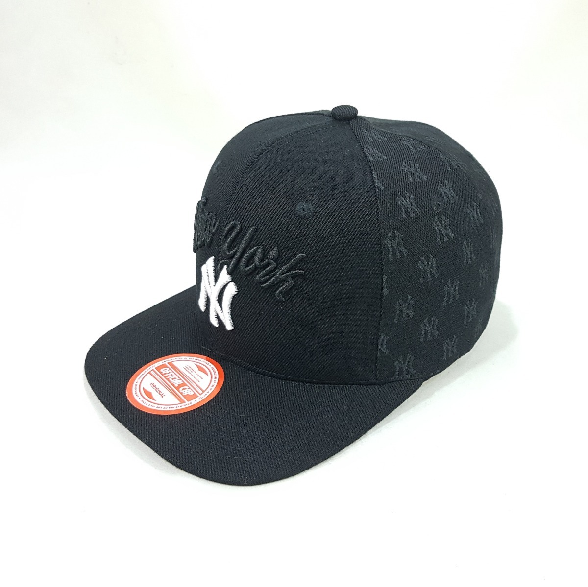 Carregando zoom... boné aba reta snapback ny new york yankees baseball preto  ... 4318ec9b0f8