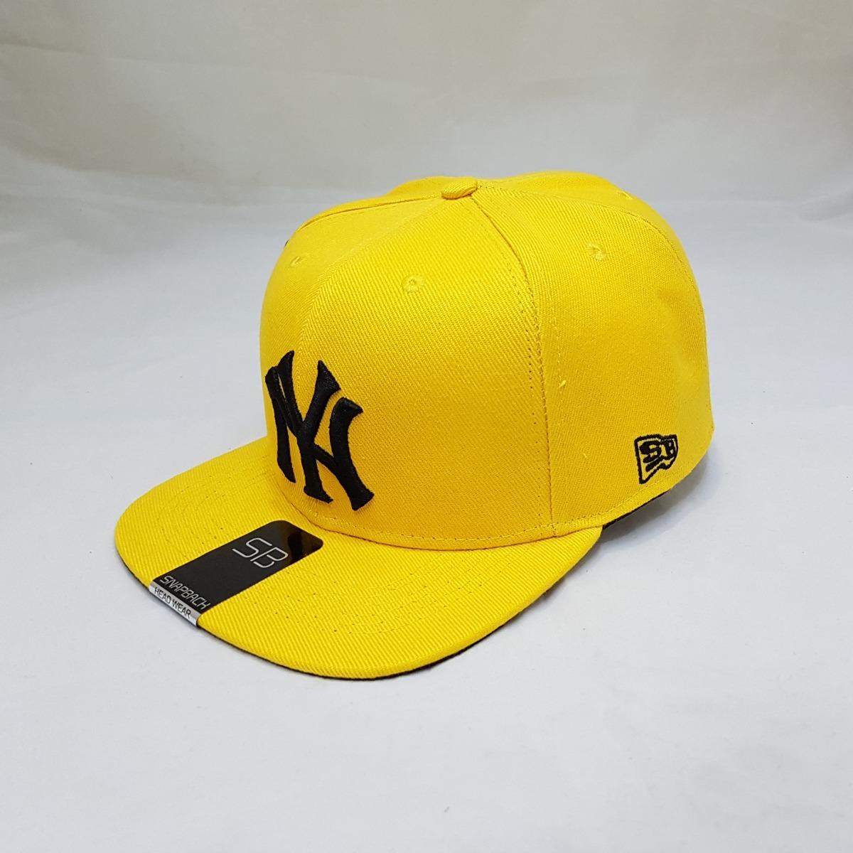 02bce04658874 boné aba reta snapback ny yankes baseball amarelo. Carregando zoom.