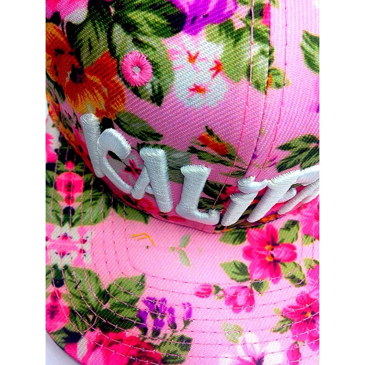 d51ee0f51af43 boné aba reta strapback florido floral flores kalifah rosas. Carregando zoom .