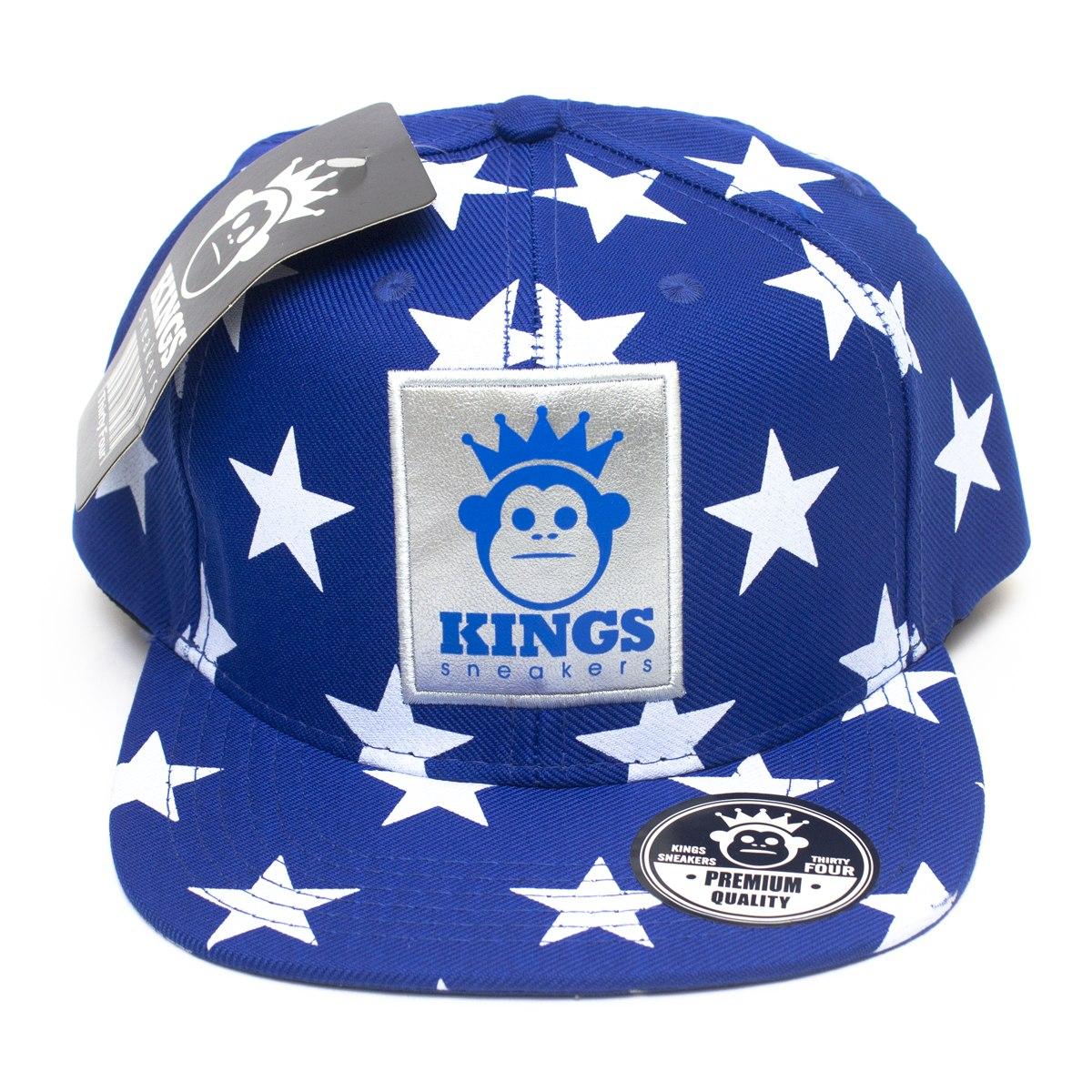ef655e5c0f Boné Aba Reta Top Kings Sneakers Star Estrela Promoção! - R$ 79,99 ...