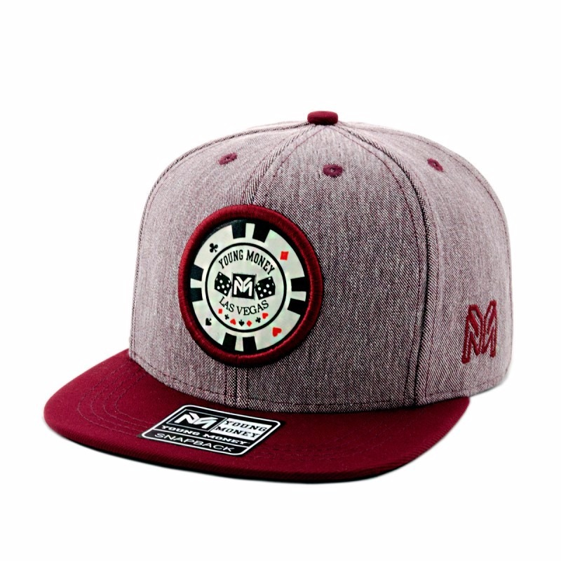 Bone Aba Reta Young Money Snapback Roleta - R  45 bb8b1e62e20
