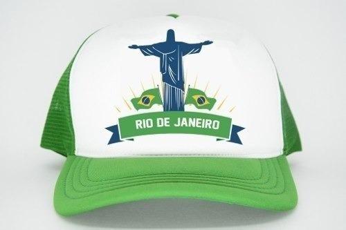 Boné Aba Torta Redinha Carnaval Rio De Janeiro - R  34 698ef011aa9