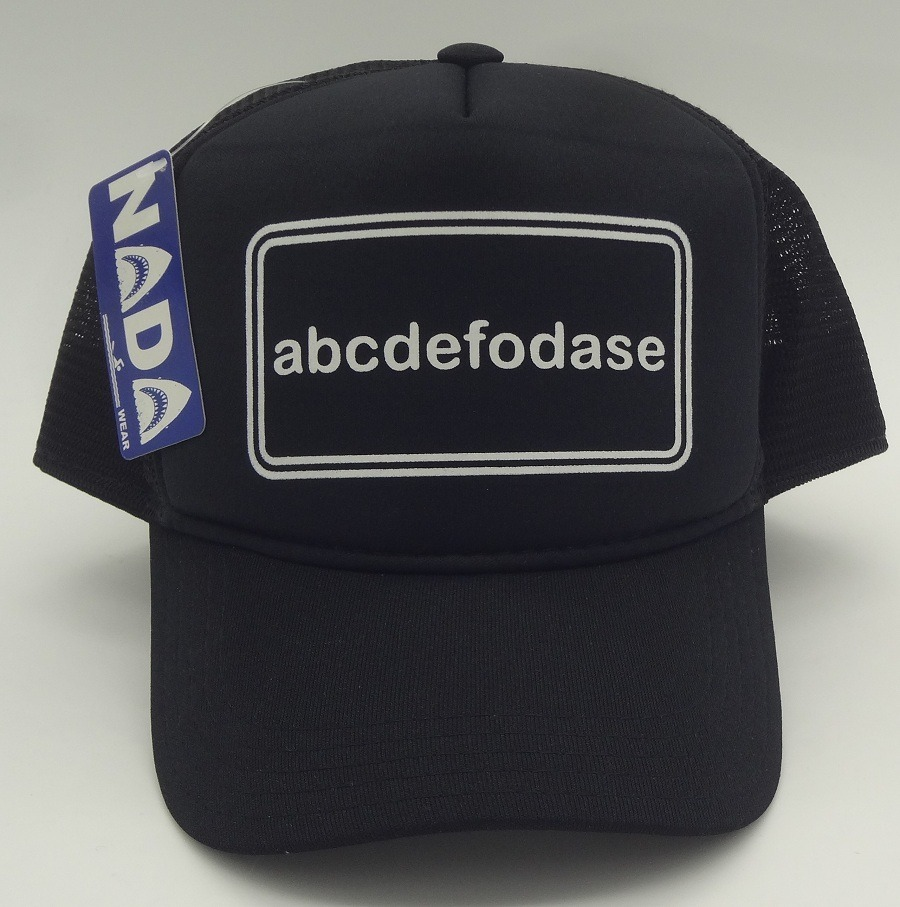 Boné Abcdefodase Abc Hardcore Punk Hc Trucker Cap Nada Wear - R  46 ... dd9611c980a