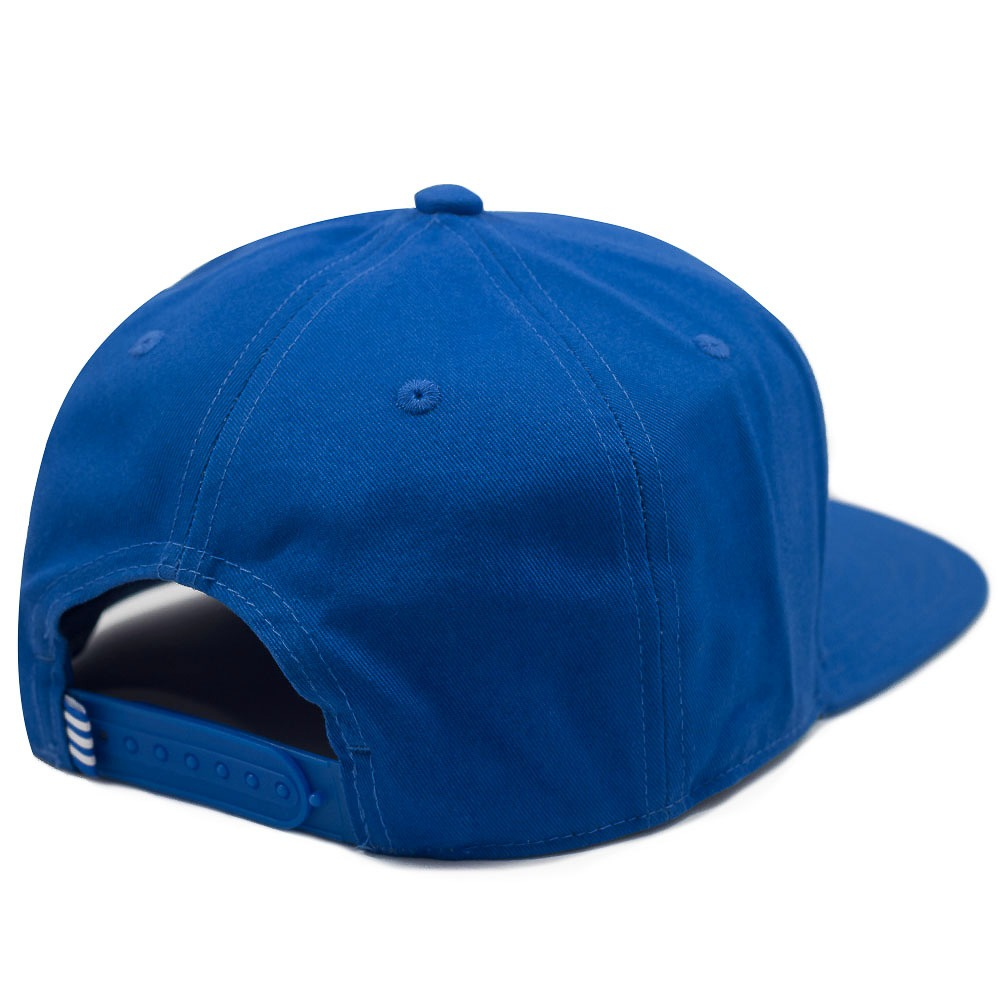 boné adidas aba reta trefoil flat azul. Carregando zoom. c91b44a099c