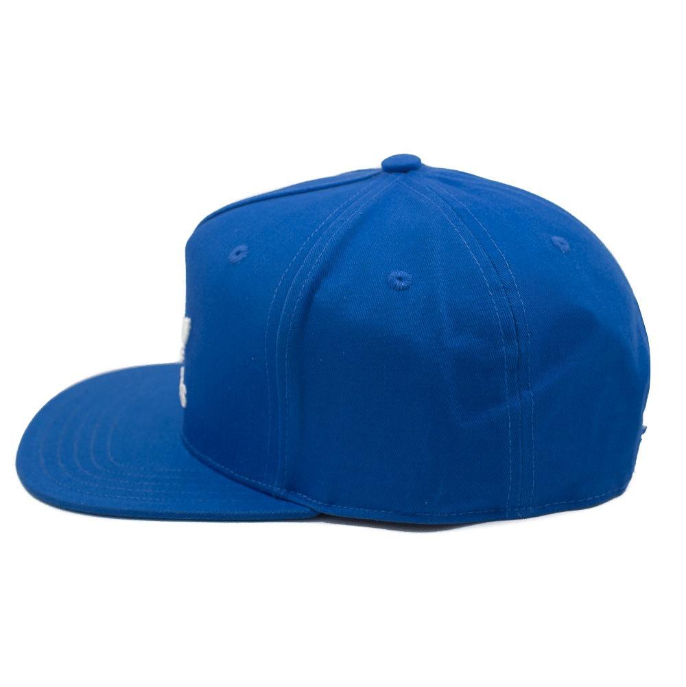 boné adidas aba reta trefoil flat azul. Carregando zoom. 45317550cb77c