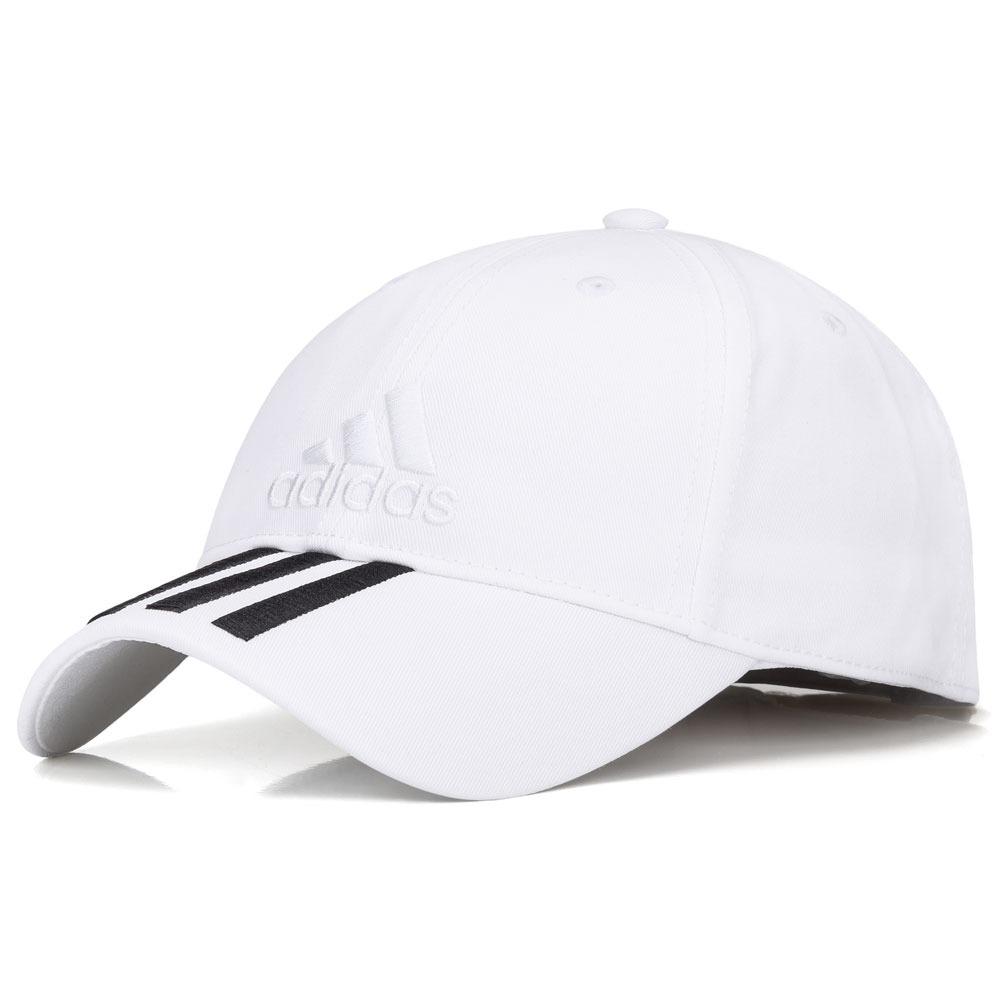 boné adidas ess 3s cotton branco e preto. Carregando zoom. afe32d9f31e