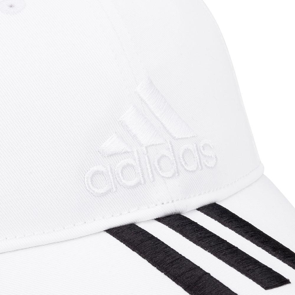 Boné adidas Ess 3s Cotton Branco E Preto - R  74 3e52f7b2796