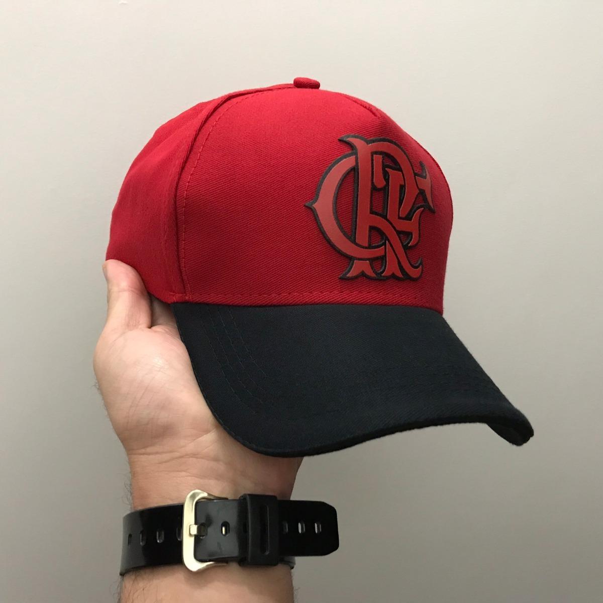 boné adidas flamengo crf brand red black vermelho aba curva. Carregando  zoom. 061185fed1ae0