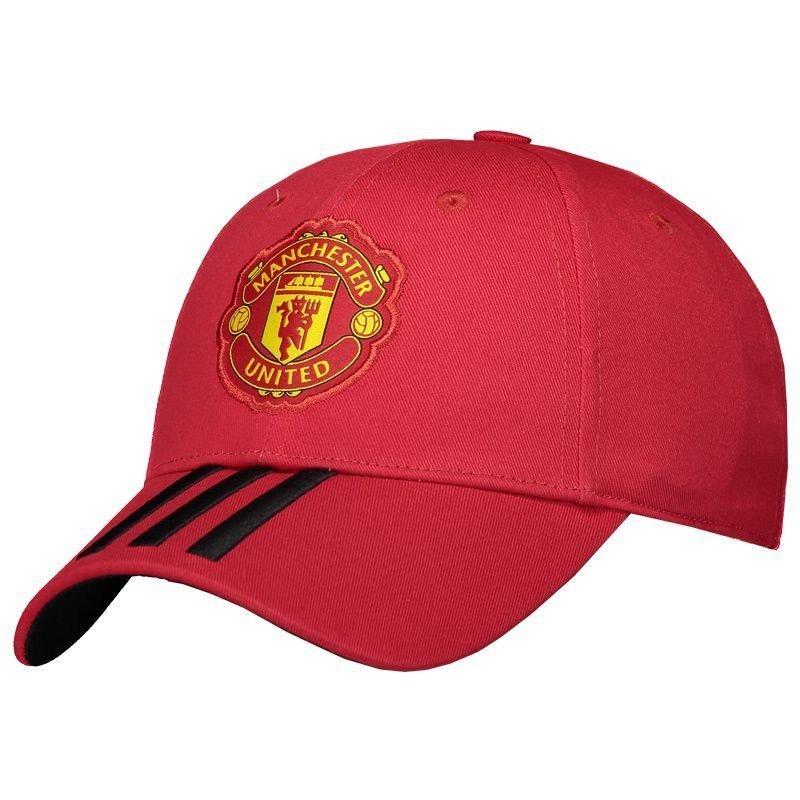 b4df7540a700c boné adidas manchester united 3s escudo vermelho. Carregando zoom.