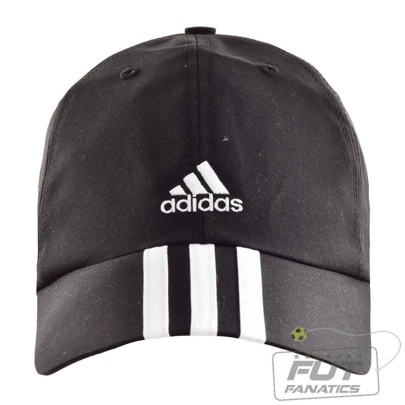 boné adidas microfibra 3s ess preto - futfanatics. Carregando zoom. 39923d3c47b