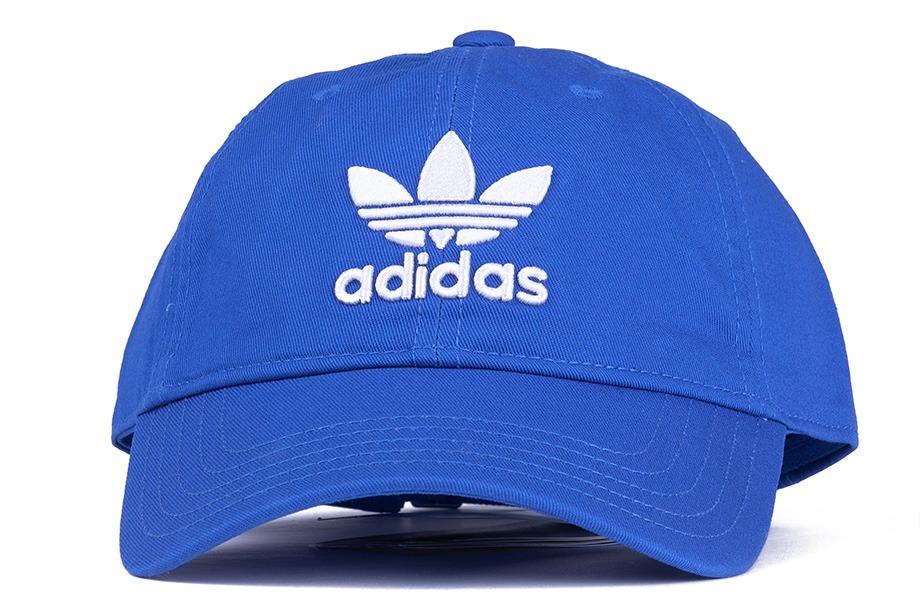 boné adidas originals trefoil classic aba curva azul - único. Carregando  zoom. 153a4948e8f