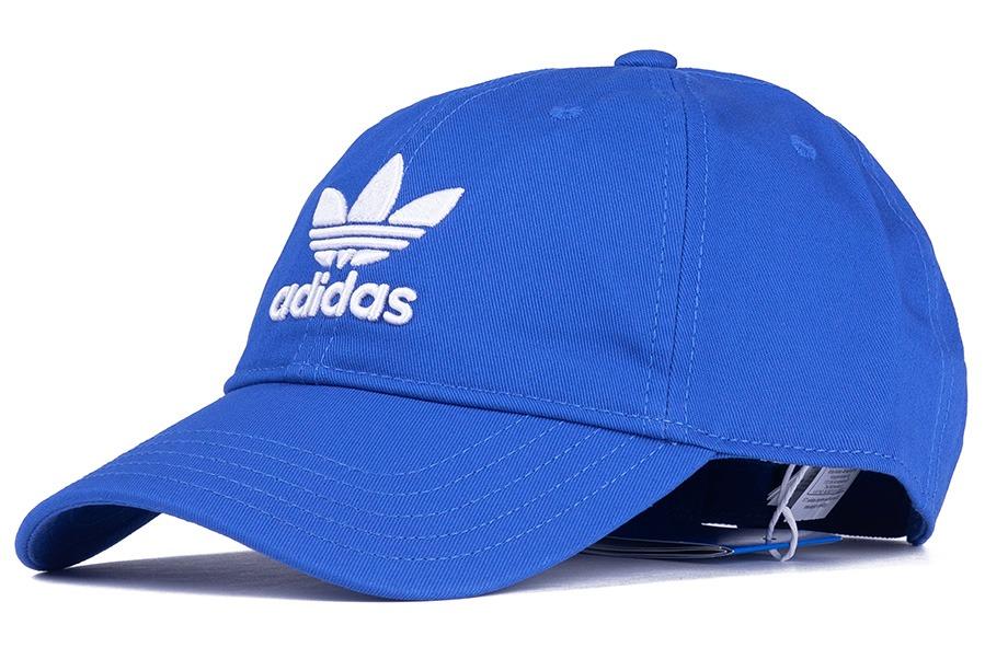 Boné adidas Originals Trefoil Classic Aba Curva Azul - Único - R  89 ... 8da6d66945f