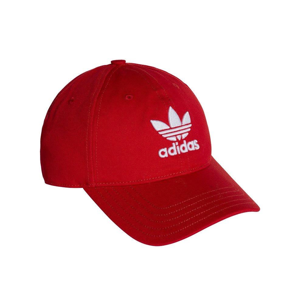 boné adidas originals trefoil classic aba curva vermelho - ú. Carregando  zoom. 43bc7ef69c9