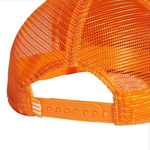 Boné adidas Originals Trucker Trefoil Laranja - R  99 8586193e5d9