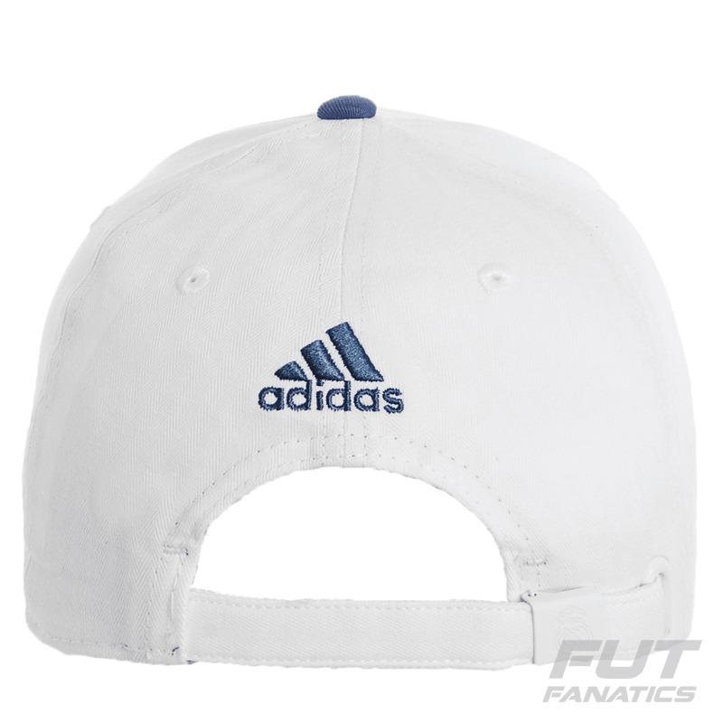 ed4c55b340901 boné adidas real madrid 3s branco - futfanatics. Carregando zoom.