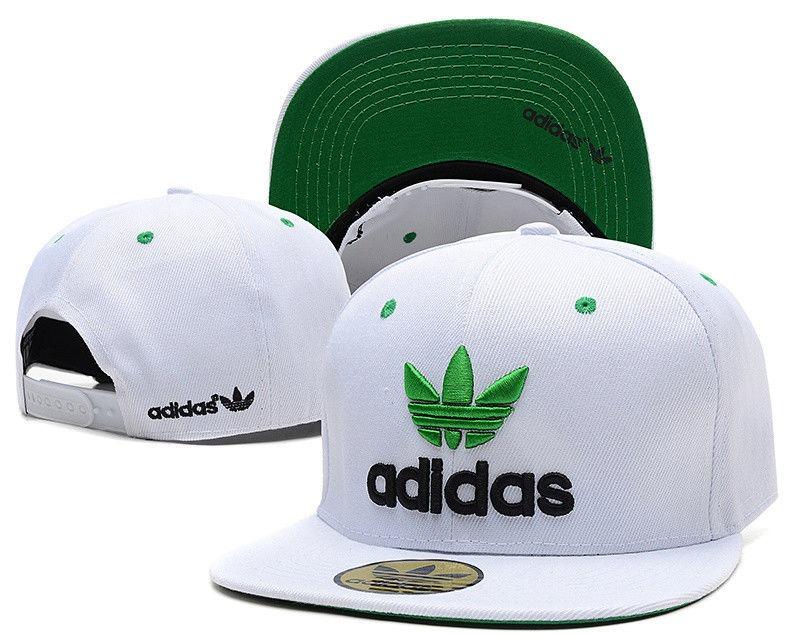 boné adidas snapback branco trefoil verde aba reta. Carregando zoom. 07372553167