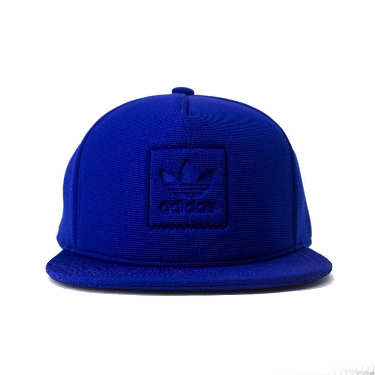 bone adidas snapback inject azul original. Carregando zoom. 6cddb20fc68