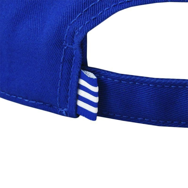 boné adidas trefoil aba curva - azul. Carregando zoom. 63745b6c667