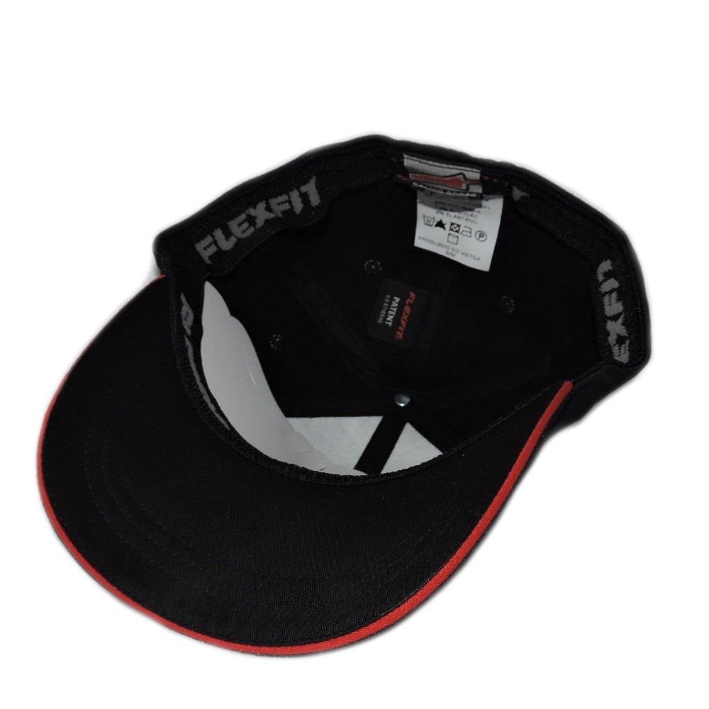 boné alpinestars astar rubber logo flexfit (preto) - g gg. Carregando zoom. bbb88ed1655