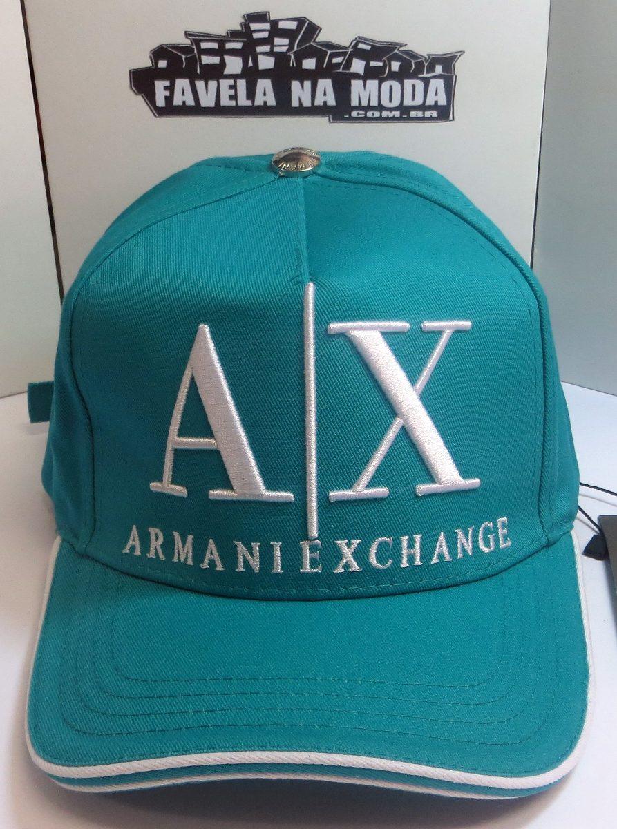 Boné Armani Exchange (100% Original) - R  139,00 em Mercado Livre 6e14ec691d