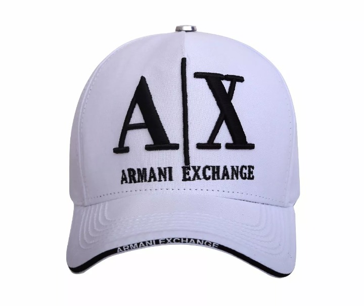 Boné Armani Exchange - Ax Branco - R  59 eac60335dee14