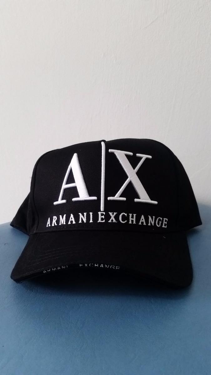 boné armani exchange ax preto. Carregando zoom. a2434eeb2be