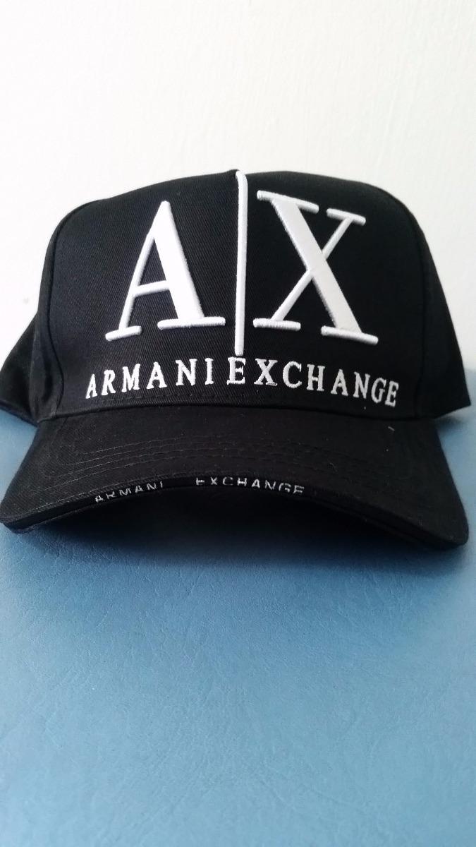 boné armani exchange ax preto. Carregando zoom. 91a3a29deb479