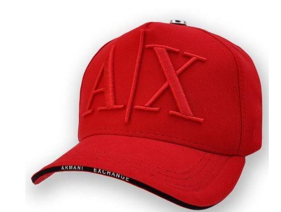 Boné Armani Exchange Ax Vermelho - R  34 8033f3d9ccce6