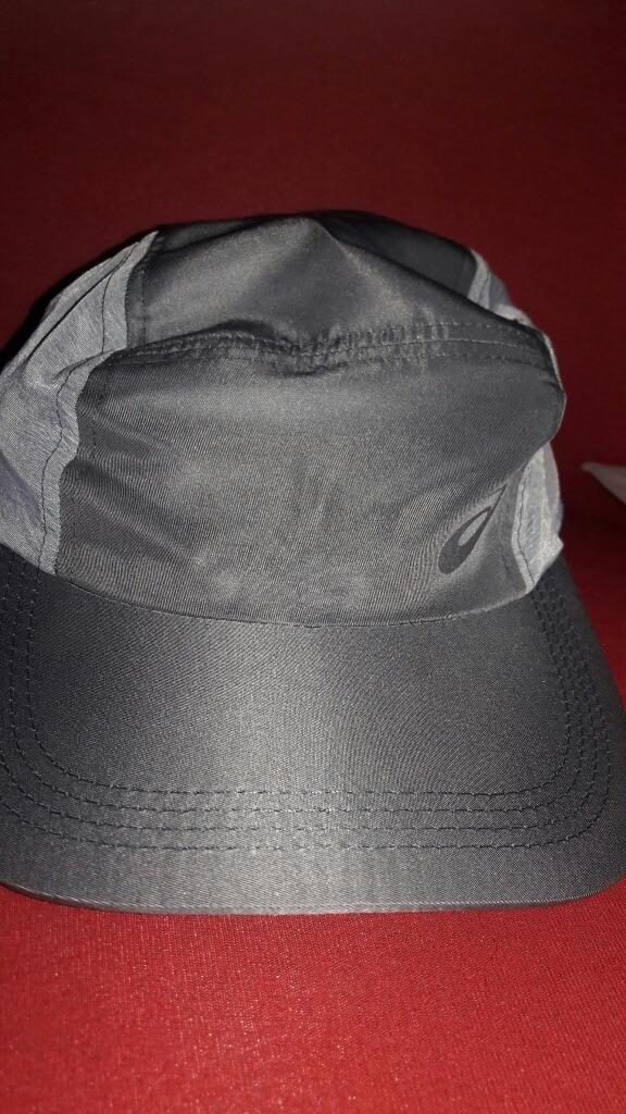Boné Asics Original Mesh Cap - Cinza E Cinza Escuro - R  33 94caedd869a
