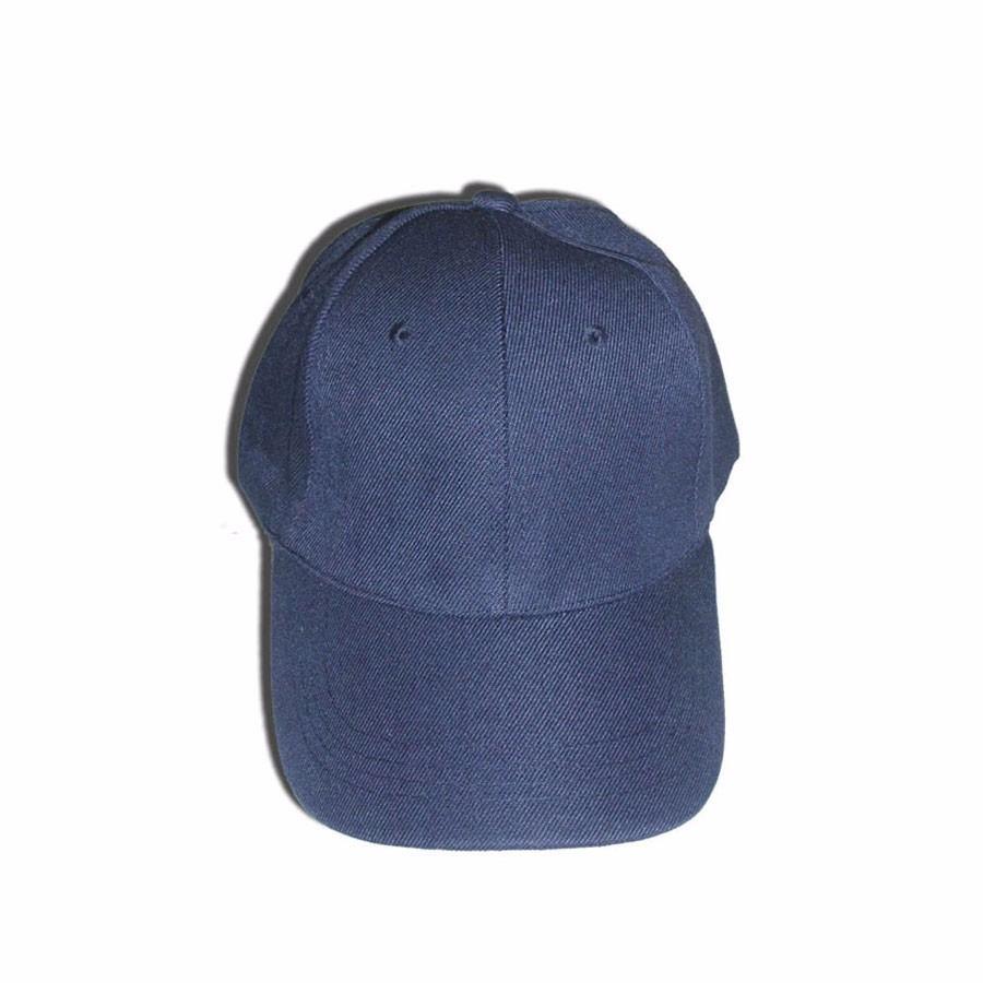 Boné Azul Marinho Liso Aba Curva c3e39e1177f