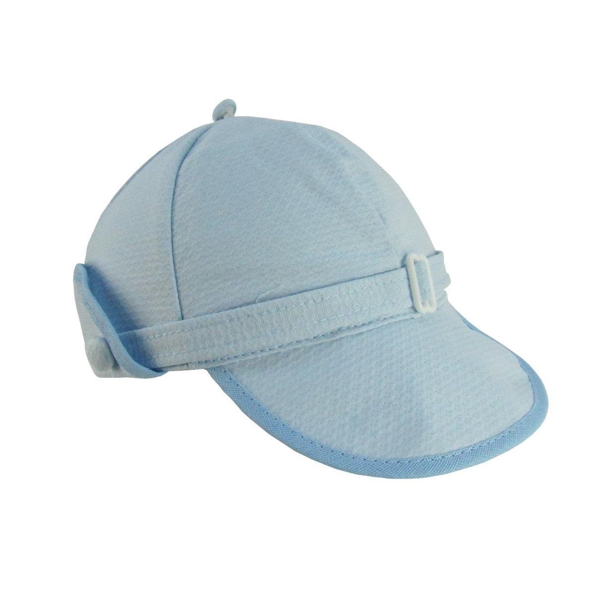 boné bebê masculino azul claro. Carregando zoom. 41ae9b73781