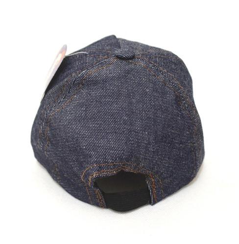 Boné Bebê Ursinho Jeans Conforto Aba Curva - Até 1 Ano - R  17 fc687dda5e124
