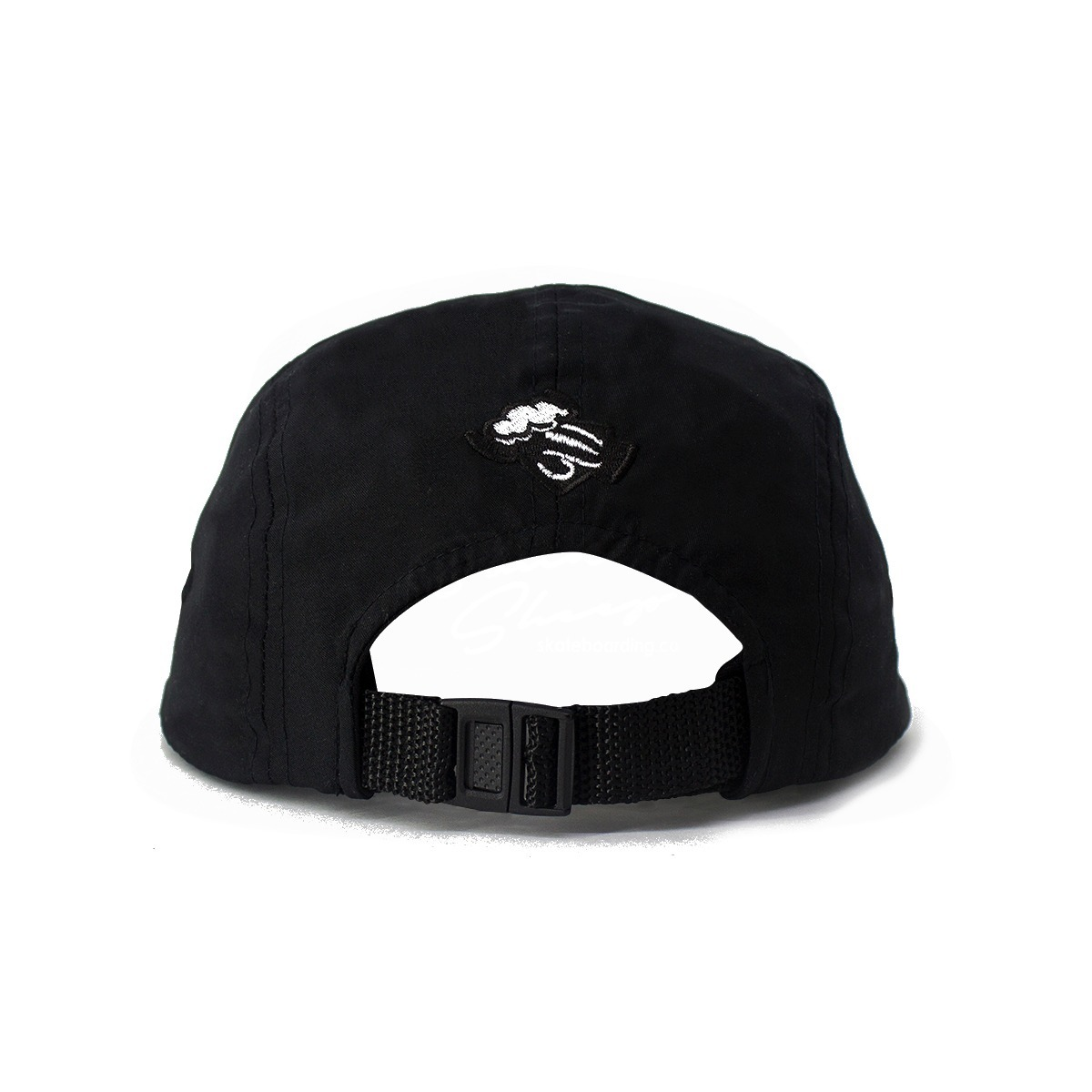 Bone Black Sheep Five Panel Patch Preto Original - R  57 261a89926e8