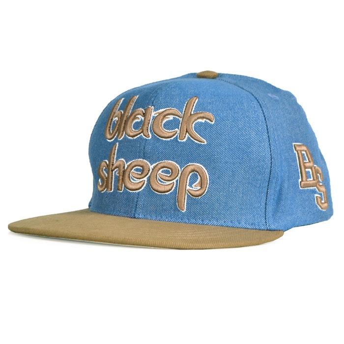 Boné Black Sheep Snapback Aba Reta Jeans - R  59 4fc49d0d650