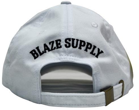 6159e37b63 Boné Blaze Aba Curva Branco - R$ 109,99 em Mercado Livre