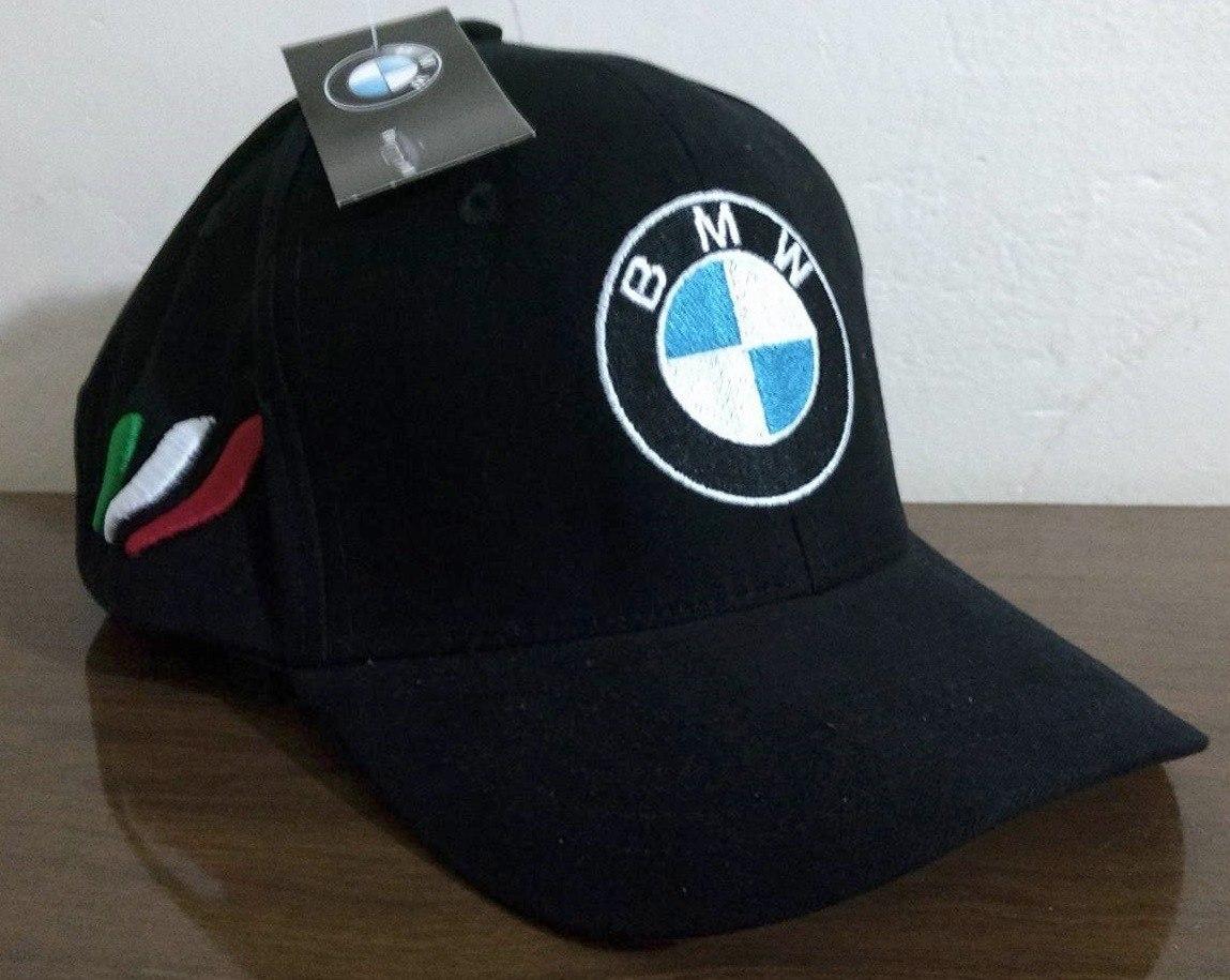 Boné Bmw Aba Curva Bordado Power Pirelli Original - R  39 8229256adff