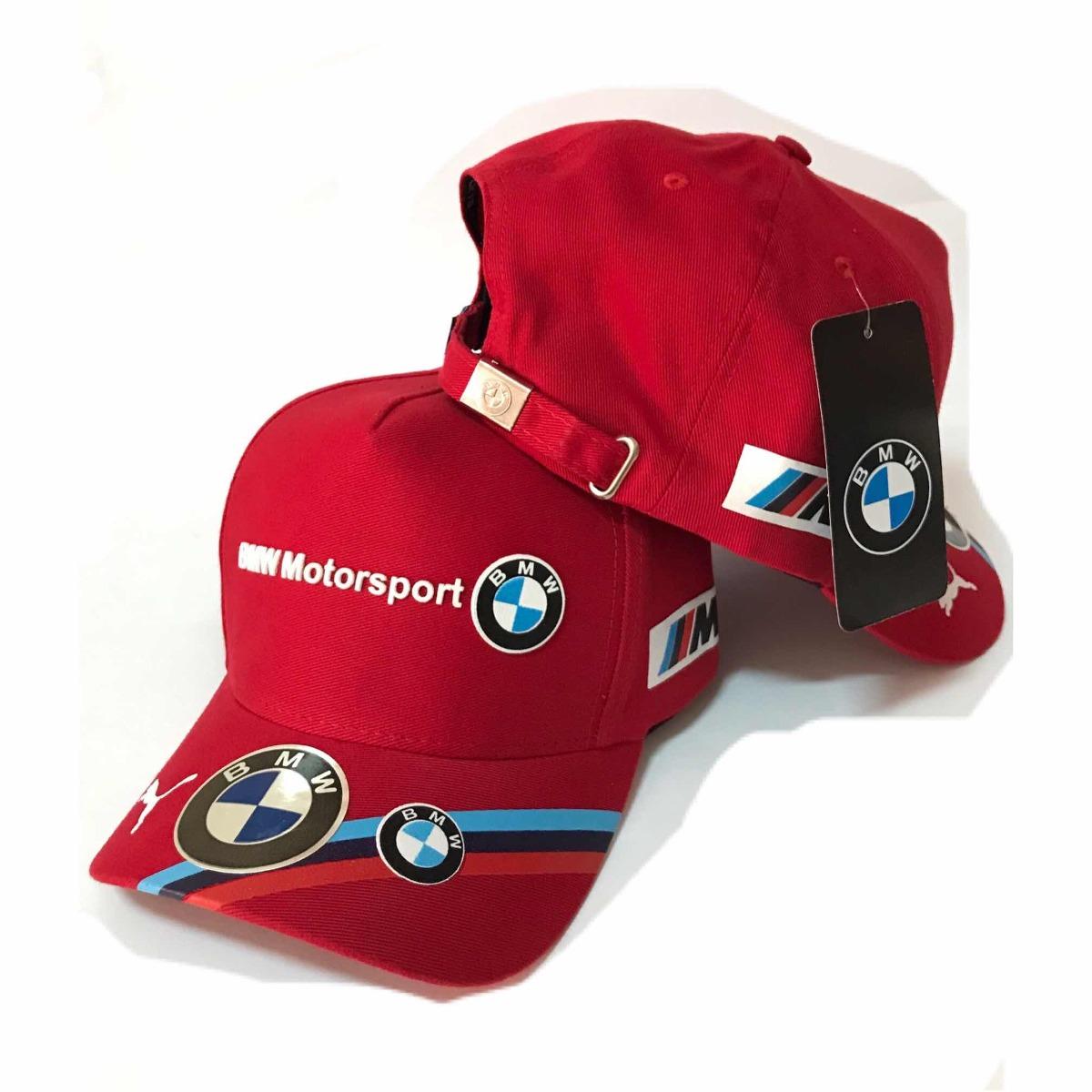 boné bmw motorsport puma aba curva golf vermelho. Carregando zoom. 7947ffb92cd