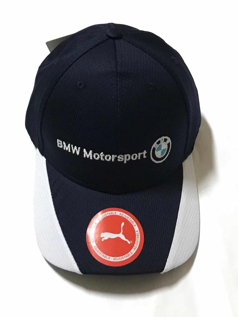 eae9ce89e5 boné bmw motorsport puma golf aba curva preto fita premium. Carregando zoom.